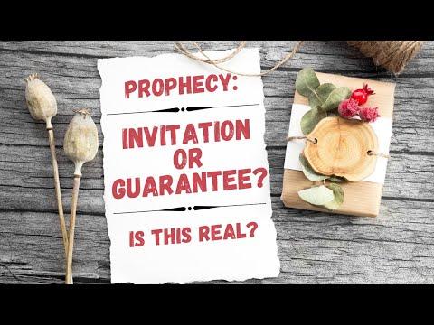 Let's Discuss Prophecy & Prophetic Words  PROPHETIC THINGS