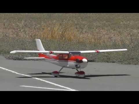 Scale Phoenix RC Cessna 182 RC Model Flight - Takeoff, Lowpasses and Landing - By Costas Theodorou - UC592NCAkzLL4ujFxAOhOLXA