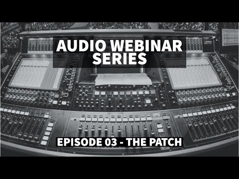 The Patch ft Ricki Cook, Justin Arthur and Andrew Crawford - Audio Webinar #3