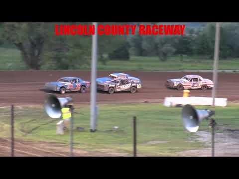 Lincoln County Raceway  Hobby Stock Main   7 17 21 - dirt track racing video image