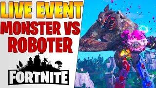 Fortnite: Live Event Monster vs Roboter Kampf   THE FINAL SHOWDOWN SIEG - Season 10 Beginn Deutsch