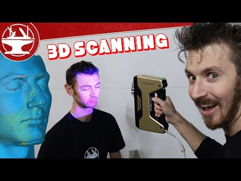 3D SCANNING!? A Day in the Life of the Hacksmith (FLOODS, BREAK INS, FAN MAIL, GIANT HAIL AND MORE) - UCjgpFI5dU-D1-kh9H1muoxQ