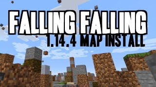 How to get Falling Falling for Minecraft 1.14.4 - download & install Falling Falling Map