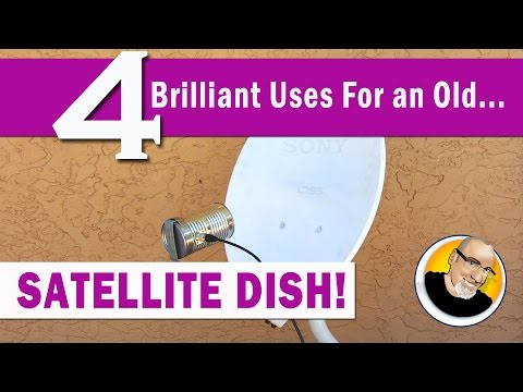 4 Brilliant Uses for an old SATELLITE DISH! - UCzNAswnSN0rZy79clU-DRPg