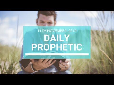 Daily Prophetic 11  November Word 7