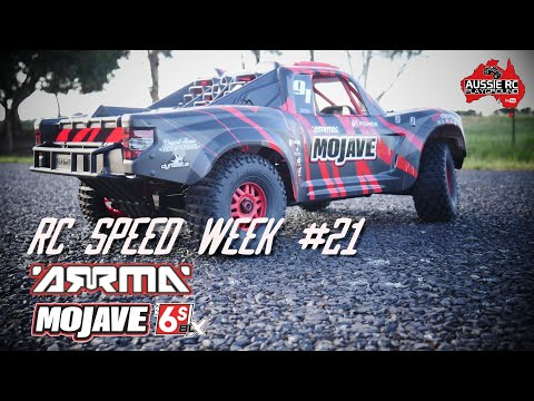 RC SPEED WEEK #21 - ARRMA Mojave 6S BLX with 20T Pinion - UCOfR0NE5V7IHhMABstt11kA