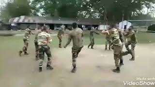 Indian Army Dance on Bollywood song and Garba