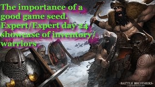 Battle Brothers Best seed for Warriors of the North - Northen Raiders - importance of map seed