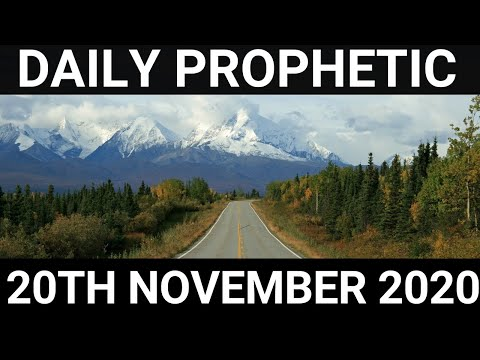 Daily Prophetic 20 November 2020 1 of 12