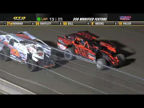 Can-Am Speedway   DIRTcar 358-Modified Feature Highlights   9/3/21 - dirt track racing video image