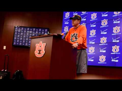"""Senior receiver D'haquille """"Duke"""" Williams has been dismissed from the Auburn football team, head coach Gus Malzahn announced Monday. Tuesday, Malzahn answered questions about Duke, practice, and the team moving forward."""