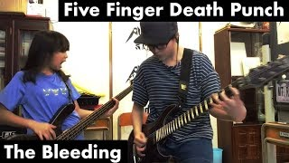 Five Finger Death Punch - The Bleeding - cover