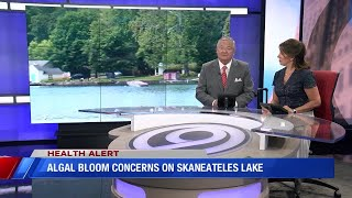 Concerns grow for potential harmful algal blooms on Skaneateles Lake