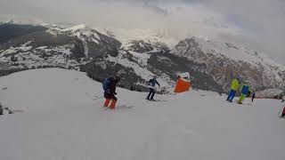 Ski Safari Day 6 Canazei & Saslong