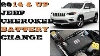 Sostituzione batteria Jeep Cherokee Restyling 2019