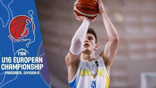 LIVE - Finland v Ukraine - FIBA U16 European Championship Division B 2019