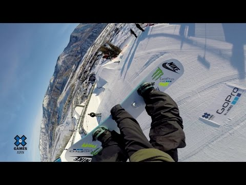 GoPro: Sage Kotsenburg and Jamie Anderson - X Games Aspen Slopestyle Course Preview - UCqhnX4jA0A5paNd1v-zEysw