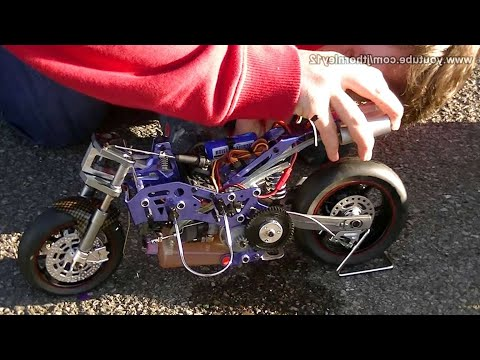 HobbyKing Nitro RC Bike First Start - UCDmaPHBzr724MEhnOFUAqsA