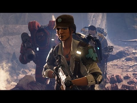 Evolve - Caira Reveal Gameplay in 60 FPS - IGN First - UCKy1dAqELo0zrOtPkf0eTMw