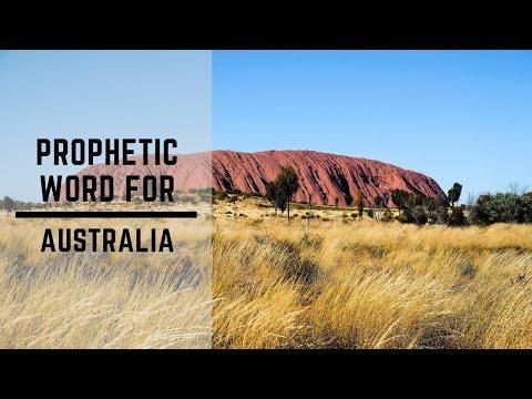 Prophetic Word for Australia 2019