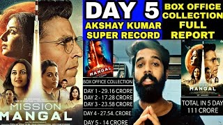 Mission Mangal 5 Day Box Office Collection, Mission Mangal 5th Day Collection, Akshay Kumar, Tapsee