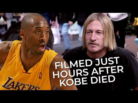 Theyre SHOCKED: People Share Thoughts on Kobe Bryants Death