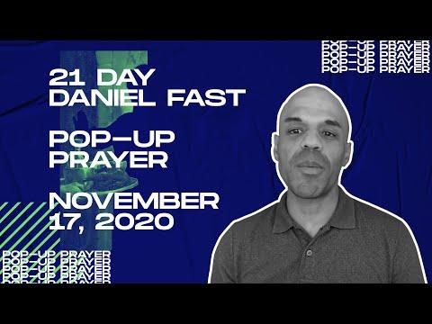 Pop-up Prayer - November 17, 2020 - Bishop Kevin Foreman