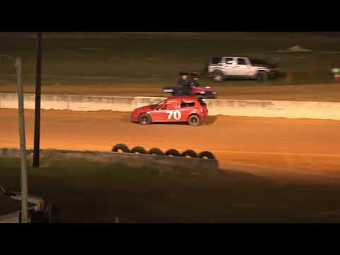 04/23/21 Super 4 Feature Race @ Oglethorpe Speedway Park - dirt track racing video image