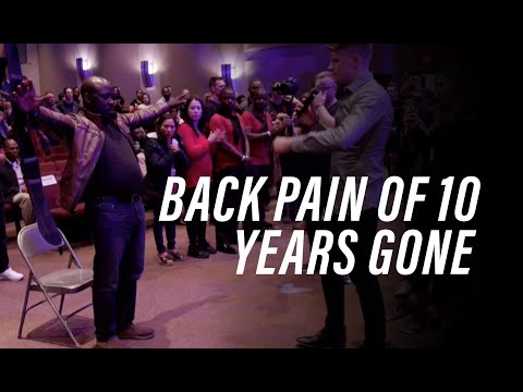 Back Pain of 10 Years Gone!!!
