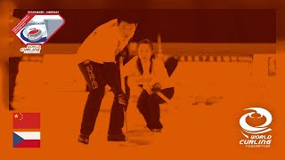 China v Czech Republic - round robin - World Mixed Doubles Curling Championship 2019