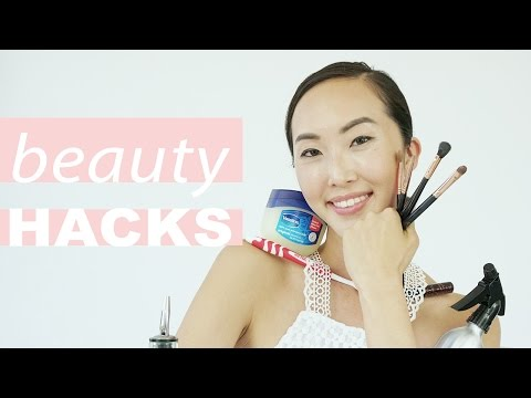 My Top Beauty Hacks Every Girl Should Know | Chriselle Lim - UCZpNX5RWFt1lx_pYMVq8-9g