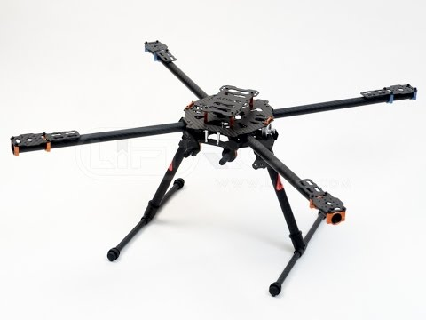 Tarot Iron Man 650 Foldable 3K Carbon Fiber Quadcopter Frame - UCrDLnMyFO6tYoqE04VIAqiA