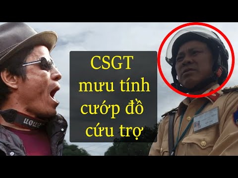 CSGT Tx Kỳ Anh mưu tính ăn chặn đồ cứu trợ ngư dân Vũng Áng?