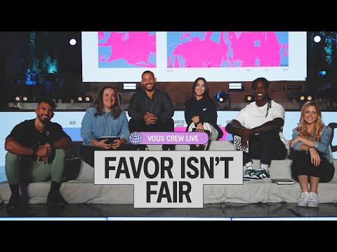 Favor Isn't Fair - VOUS CREW Live