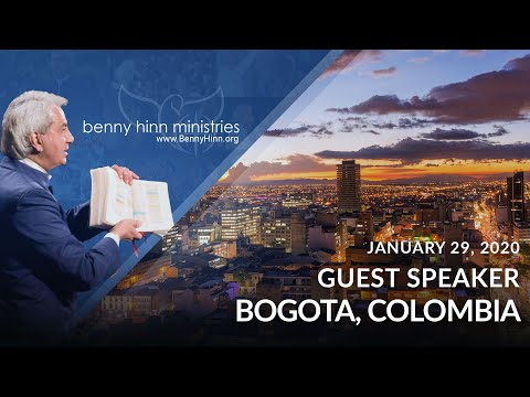 Benny Hinn LIVE in Bogota, Colombia, Part 1 - January 29, 2020