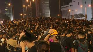 Hong Kong Protesters Back On Harcourt Road After Largest Rally In Weeks