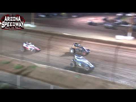 Az Speedway  ASCS Desert Sprint Car Main   9 11 21 - dirt track racing video image