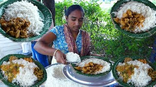 Cheapest Roadside Unlimited Meals   Indian Street food #Streetfood