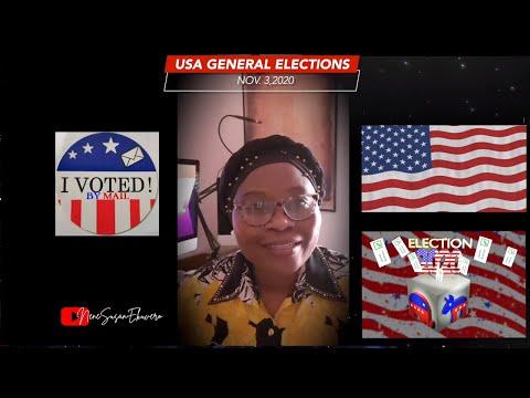 USA Vote 2020  Nov.3,2020