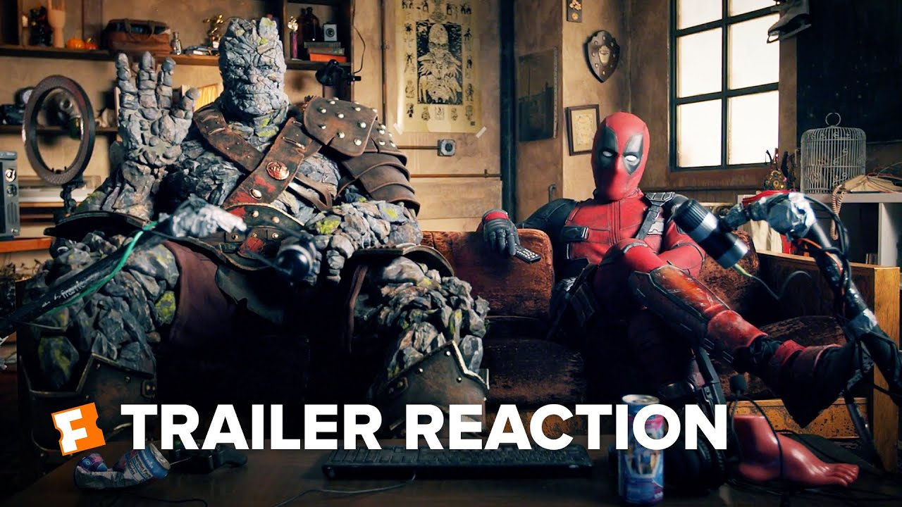 Free Guy Trailer Reaction – Deadpool and Korg (2021)   Movieclips Trailers