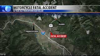 Frenchtown man dies in Highway 93 motorcycle crash