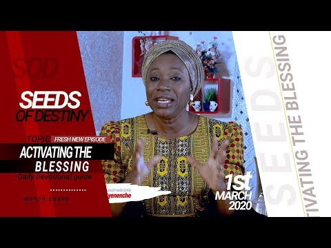 Dr Becky Paul-Enenche - SEEDS OF DESTINY- SUNDAY, 01 MARCH, 2020