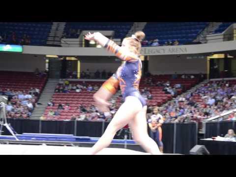 A highlight reel of Auburn Gymnastics in their meet against Alabama. Alabama defeated Auburn 195.850- 194.675.