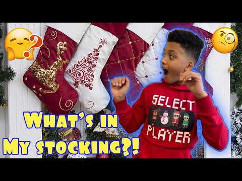 IT WAS THE NIGHT BEFORE CHRISTMAS! WHAT'S IN MY STOCKING    Vlogmas *The Nev Fam*