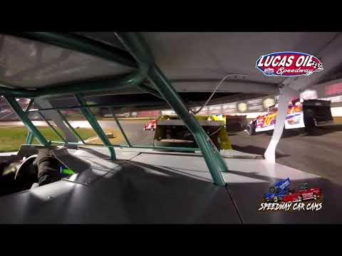 #65 Tyler Davis - USRA Modified - 10-7-2021 Lucas Oil Speedway - In Car Camera - dirt track racing video image