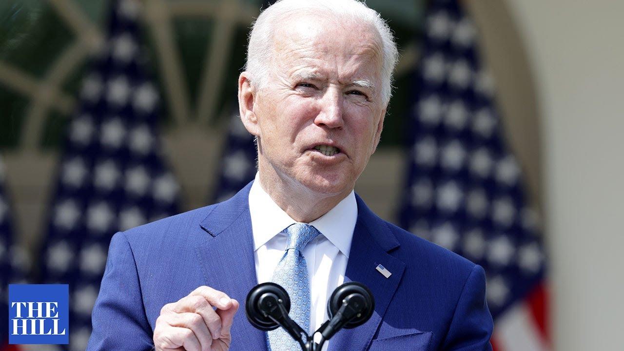 Biden CRITICIZES the press for negative questions