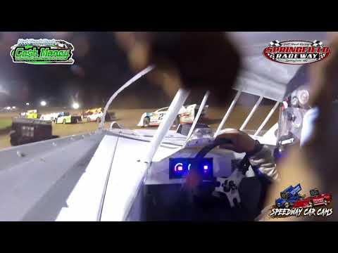 #28 Kylan Garner - Cash Money Late Model - 4-11-2021 Springfield Raceway - In Car Camera - dirt track racing video image