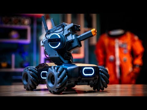 DJI RoboMaster S1 Robot Hands-On and Build! - UCiDJtJKMICpb9B1qf7qjEOA