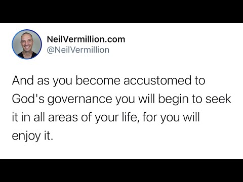 I Am The One Who Governs - Daily Prophetic Word