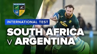 South Africa v Argentina | International Test Highlights